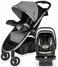 Recaro Performance Denali Luxury Travel System Stroller w/ Coupe Infant Car Seat