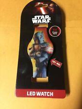 Star Wars Boba Fett LED Watch