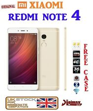"NUOVO 32gb ORO 5.5"" XIAOMI REDMI NOTE 3 Snapdragon 650 16mp PRO PRIME Sbloccato UK"