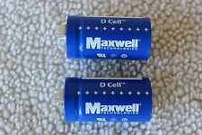 Maxwell 310 Farad 2.7V Ultracapacitor/Supercapacitor D Cell Boostcap X 2 pieces