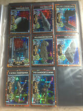STAR WARS Force Awakens - Force Attax Extra Trading Holographic Foil Cards Set