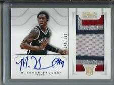 Marshawn Brooks 12/13 National Treasures Autograph Game Jersey Patch RC #46/199