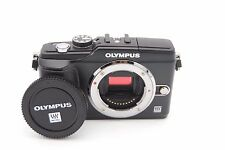 OLYMPUS PEN E-PL2 12.3MP DIGITAL CAMERA W/ 14-42mm F/3.5-5.6 II LENS BLACK