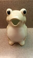 HENRIKSEN IMPORTS JAPAN CERAMIC FROG PITCHER