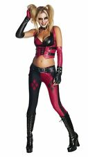 NEW Large Adult Batman Arkham City Sexy Harley Quinn Costume By Secret Wishes