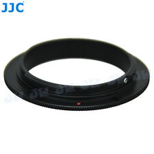 JJC 49mm Filter Thread Lens Reverse Ring Macro Adapter for Canon EOS body Camera