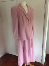 Gerry Weber BNWT Ladies Pink Skirt Suit Outfit, Great Quality, UK 18