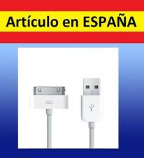Cable IPHONE a USB cargador ipod nano ipad SHUFFLE PC 2 4S 3 4 air TOUCH antiguo