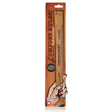 Comfort Rules Novelty Wooden Eco Bamboo Ruler And Back Scratcher In One