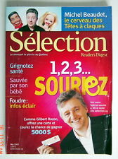 SÉLECTION DU READER'S DIGEST DE MAI 2007, EN COUVERTURE GILBERT ROZON