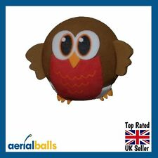New! Cute Robin Redbreast Bird Tweet Car Aerial Ball Antenna Topper