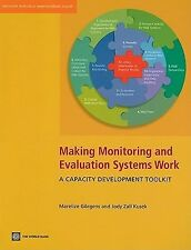 World Bank Training: Making Monitoring and Evaluation Systems Work : A...