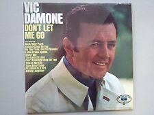 Vic Damone Don't Let Me Go vintage 33lp vinyl 1969