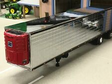 1/64 DCP CHROME/BLACK 53' THERMO KING REEFER TRAILER