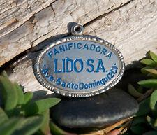 SCHÖNE ALTER SCHLÜSSELANHÄNGER # PANIFICADORA LIDO S.A. SANTO DOMINGO BÄCKEREI