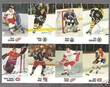 1988-89 Esso Proof Panel of 8, Bobby Orr, Gordie Howe..