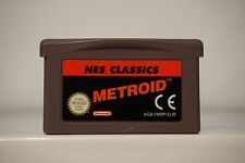 Metroid Nes Classics gameboy advance game boy GBA nintendo original 2869