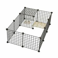 Small Animal Playpen Cage Outdoor Pet Enclosures Indoor Guinea Pig Puppy Rabbit