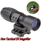 5X Magnifier Scopes FTS To Side Tactical Mount Hunting For Eotech Aimpoint B