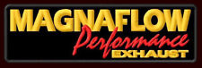 """MAGNAFLOW PERFORMANCE EXHAUST EMBROIDERED PATCH ~4-1/4"""" x 1-1/4"""" RACING X-PIPE"""