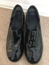 Cole Haan Nike Air Reena SlipOn Womens Black Patent Leather waterproof shoes 9 B