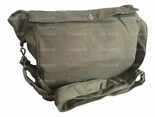 USSR Soviet Russian Red Army Military Gas Mask Messenger Khaki Green Bag