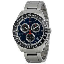 Tissot PRS516 Blue Dial Chronograph Mens Watch T0444172104100