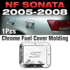 Chrome Fuel Gas Cap Cover Garnish Molding Trim for HYUNDAI 2006 - 2008 NF Sonata