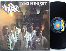 U-TURN Living In The City RARE!! Oz Hard Rock LP 1977 NM Laser AUSSIE Glam VINYL