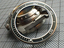 PLANET OCEN - GUNMETAL GRAY SEIKO CUSTOM BEZEL INSERT WITH LUMINOUS BALL Z-03-GN