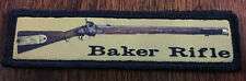 1x4  Baker Rifle Morale Patch Sharpe's 95th Rifles British Green jacket Napoleon