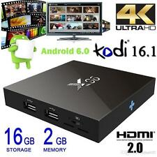 X96 2G/16G Android 6.0 TV Box QuadCore 4K WIFI 3D FHD Smart TV Box Miracast