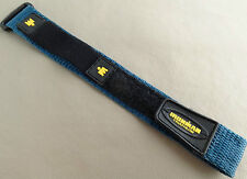 New 16-20mm Nylon Sport Timex Blue Fast Wrap Ironman Triathlon Watch Band