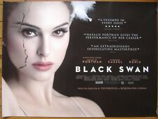 Black Swan (2010) ORIGINAL D/S ROLLED UK QUAD CINEMA POSTER, Darren Aronofsky