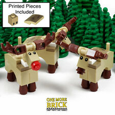 LEGO Reindeer - Pack of 3 - Lego Winter City Rudolph Christmas Xmas