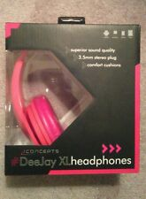 NEW-i concepts Dee Jay XL Headphones ipad iphone ipod Galaxy & Android
