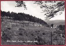SAVONA PONTINVREA 13 GIOVO LIGURE - ALBERGO STELLA Cartolina FOTOGR. viagg. 1962