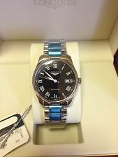 Longines Automatic Masterpiece Steel Unworn Bracelet Watch