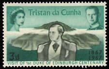 TRISTAN da CUNHA 109 (SG109) - Prince Albert's Royal Visit Centenary (pf95331)