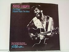 """KENNY LOGGINS """"I'M FREE / WELCOME TO HEARTLIGHT"""" 45/wPS MINT"""