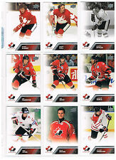 2013-14 UPPER DECK TEAM CANADA SHORT PRINT CARDS..YOU PICK ONE CARD FROM LIST