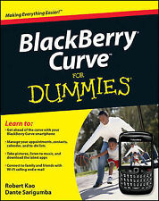 BlackBerry Curve For Dummies by Robert Kao, Dante Sarigumba (Paperback, 2009)