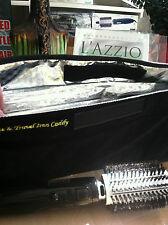 LAZZIO Ionic Ceramic Boar Bristle Hot Air Smooth Brush