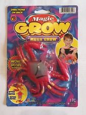 Magic Grow Mega Crab Friend of Dory Nemo Increases 600%  Pool Water Toy Crabby