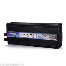 Car Inverter 1600W DC 12V AC 220V Vehicle Power Supply Switch On-board Charger
