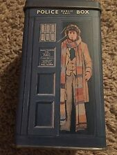 DOCTOR WHO rare vintage 80's TARDIS coin bank TOM BAKER (marked)
