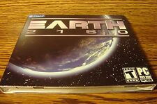 Earth 2160 PC DVD-ROM Software Game Microsoft Windows Rated T Teen NEW-Sealed