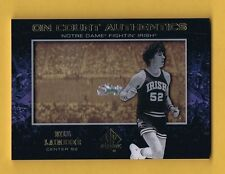 BILL LAIMBEER Notre Dame Irish 2013-14 SP Authentic On Court Authentics NrMt+