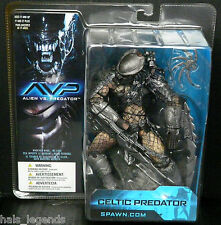 "Alien vs Predator CELTIC PREDATOR New! Rare! 8"" Figure McFarlane spawn.com"