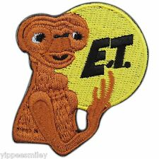 E.T. the Extra Terrestrial Fantasy Cartoon Kids Children Iron On Patches #0306